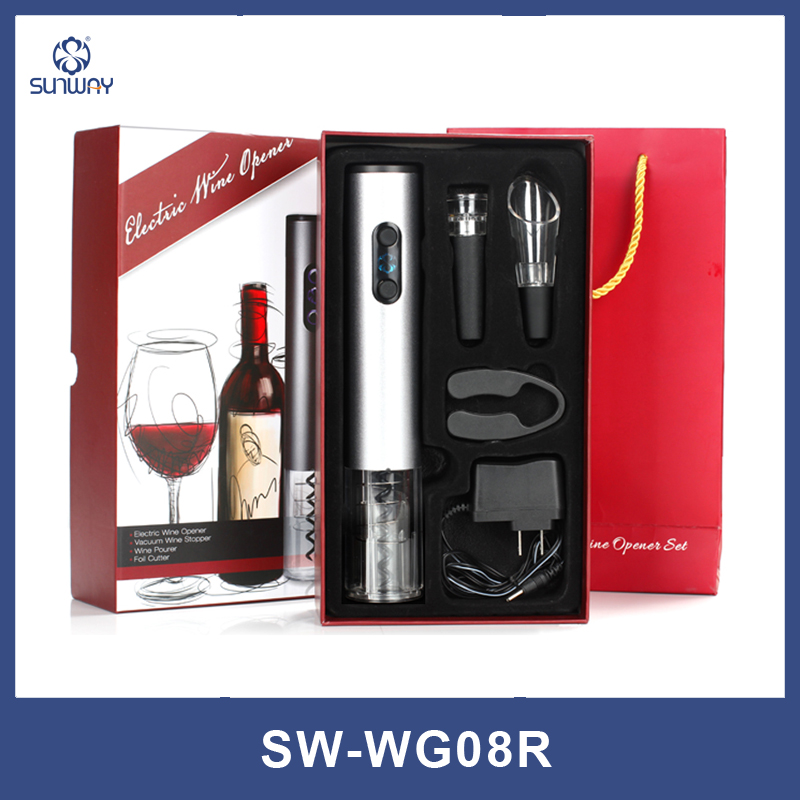 Charging wine electric bottle opener four sets